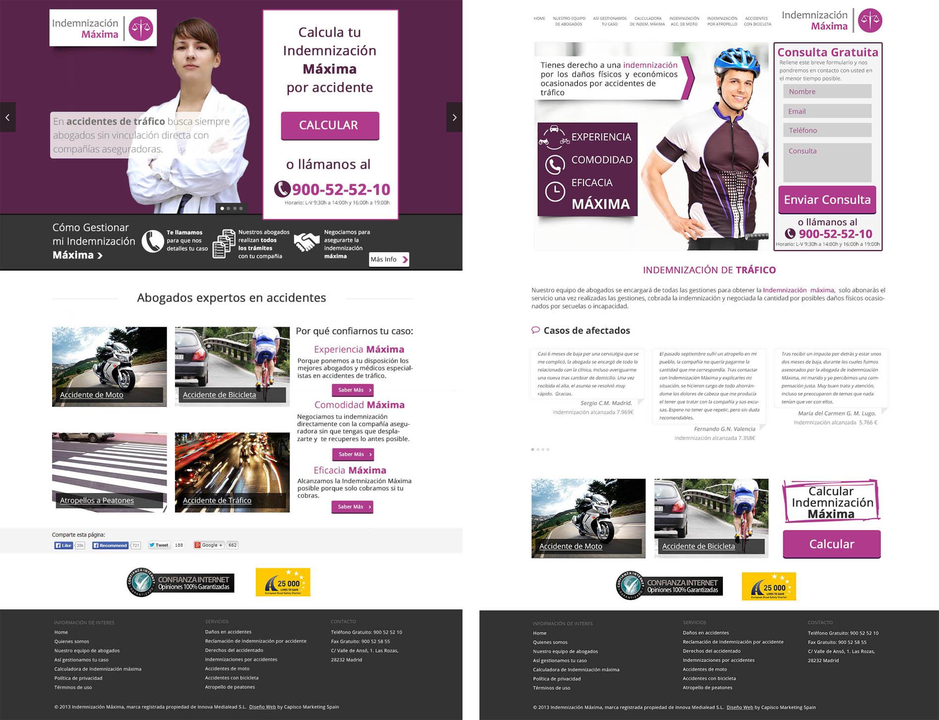 Diseño y maquetacion web