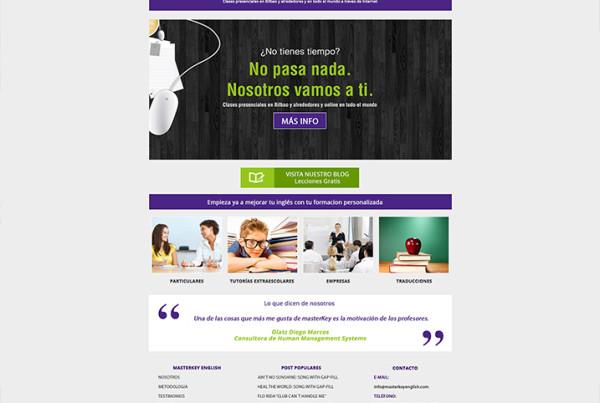 Diseño Web MasterKey