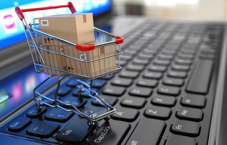 teclado y carro de la compra